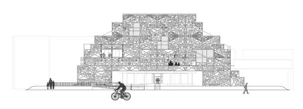 Kensington Library Elevation