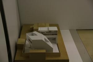 Studio 1 Final Model on Site